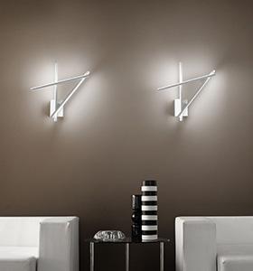 Illuminazione parete led una collezione di idee per idee for Lampadari a led per interni