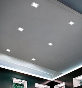 Illuminazione A Soffitto Con Led.Lampadari A Led A Risparmio Energetico Braga Illuminazione