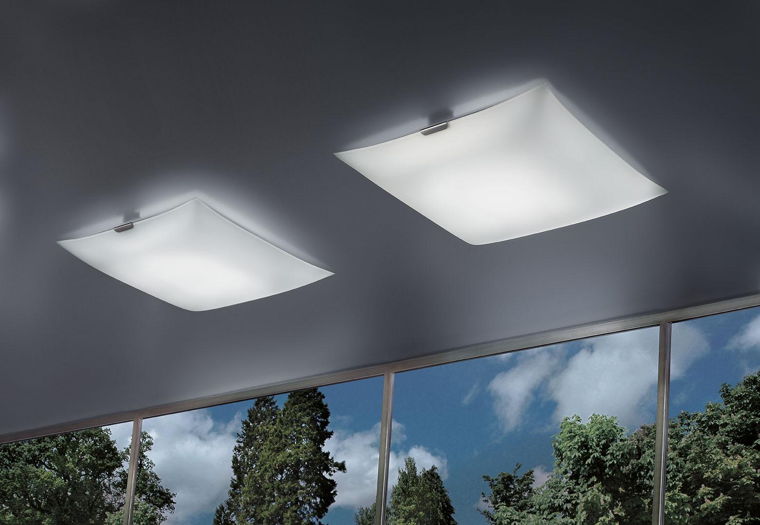 Glass led braga illuminazione for Braga lampadari